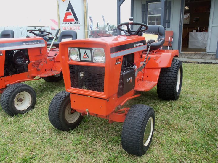 Allis Chalmers Garden Tractors : Allis chalmers lawn garden tractor