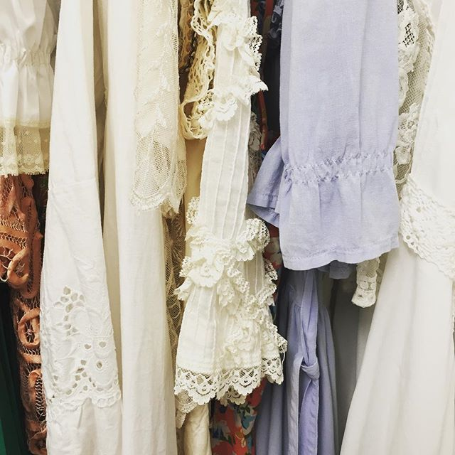 Vintage dresses from our personal collection #arcadiantraders
