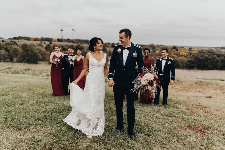 air museum wedding bridal party - Google Search
