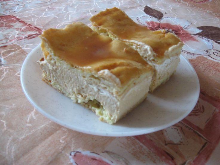 Karamelový větrník na plech - Recept - ReceptyZMouky.cz