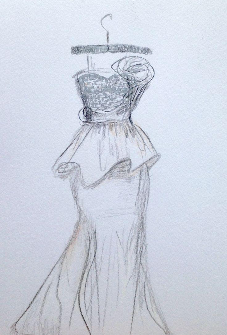 235 best custom wedding dress sketch images on pinterest