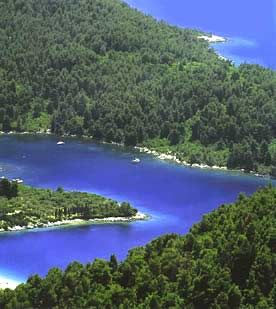 Skopelos Island in Greece - the greenest of all the Greek Island.