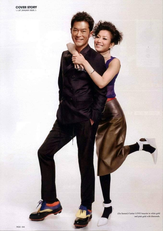 Louis Koo & Sammi Cheng