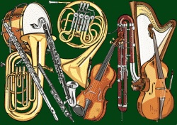 Teaching the orchestra differently in different grades Instruments