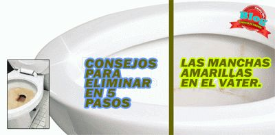 MANCHAS AMARILLAS EN SU INODORO?   CONSEJOS DE LIMPIEZA Y CONSERJERÍA. TRUCOS Y TIPS.