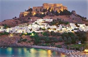 Lindos  Rhodes  Greece