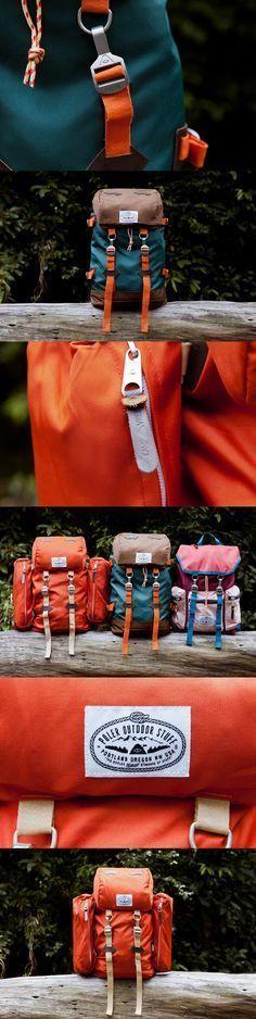 We love this POLER Outdoor Stuff Rucksack Pack