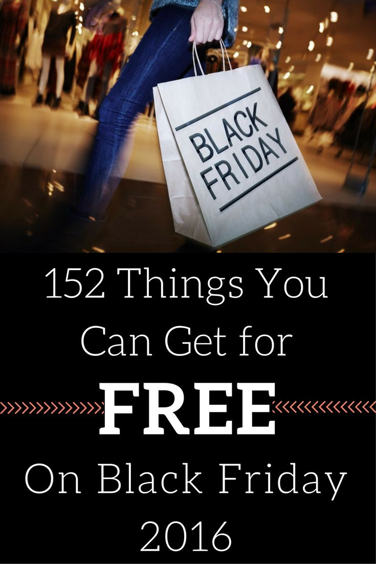 192 things you can get for free on black friday 2018