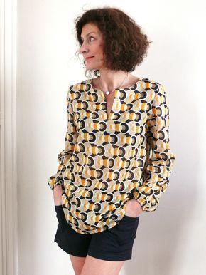 Blouse L du livre: Mes carnets de couture, Tuniques pour petits et grands