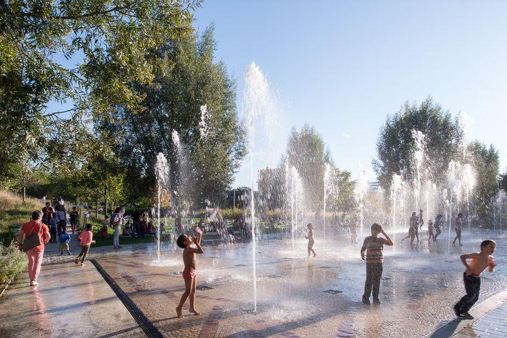 Galería de Paisaje y Arquitectura: Martin Luther King, un parque ecológico integral y conector de barrios - 17