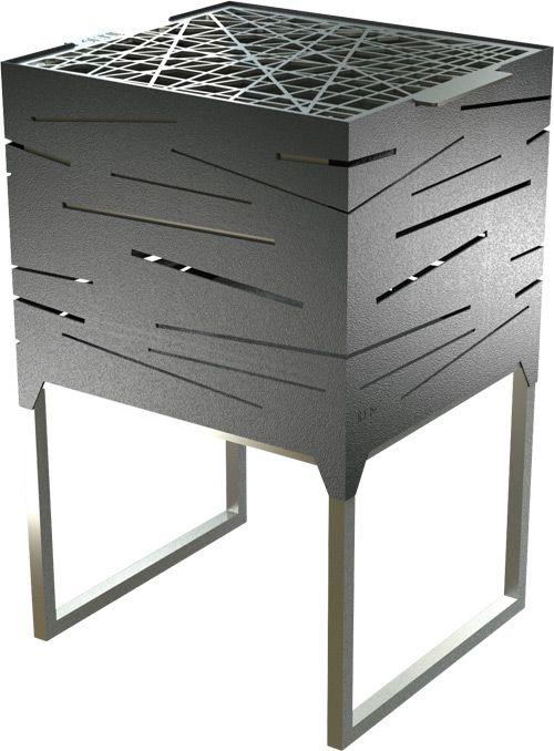 NERO BBQ Grillstelle, gestaltet von ÎLE19