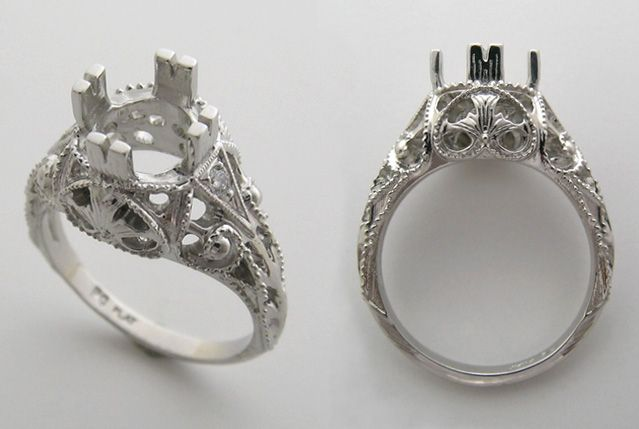 Images Of Antique Diamond Rings