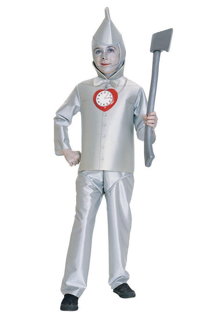 Child Tin Man Costume - Kids Deluxe Wizard of Oz Tin Man Costumes