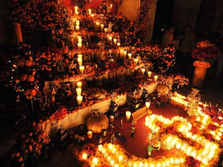 Altar de muertos... The Altar to the Dead! Mexican tradition to celebrate our loved departed!