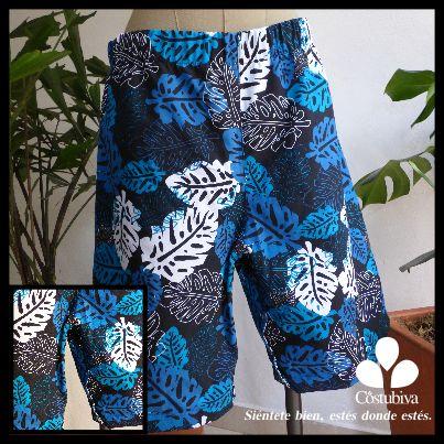 Pantaloneta unisex con aabertura en la entrepierna. Mayor facilidad para cambiar pañales, hacer curaciones o manejar sondas. Encuentra más en www.costubiva.com