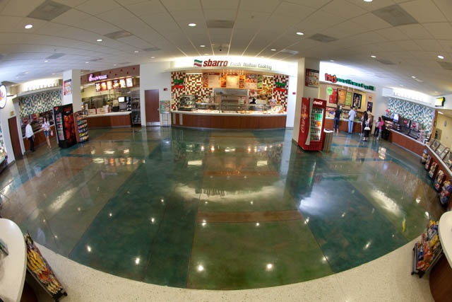 The Food Court offers selections such as Sbarro Pizza, Chick-fil-A,   and Subway. There is also a Miso Sushi, Noodle and Rice Bowl   location & a Moe's Southwest Grill.