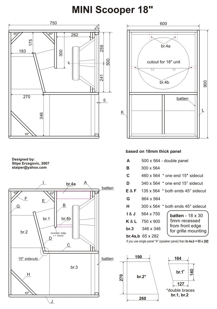 325 b u00e4sta bilderna om speaker plans p u00e5 pinterest