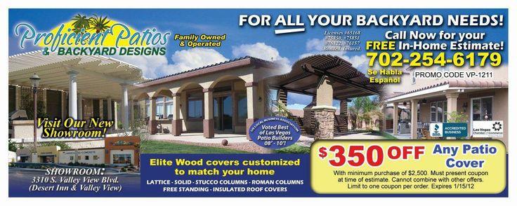 Marvelous Valpak Ad For Proficient Patios Las Vegas | Landscaping Advertisers |  Pinterest | Patio And Las Vegas