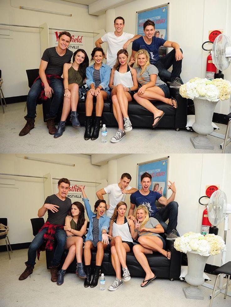 Matt, Evie, Phoebe, Oscar, Casey, Denny and Ricky