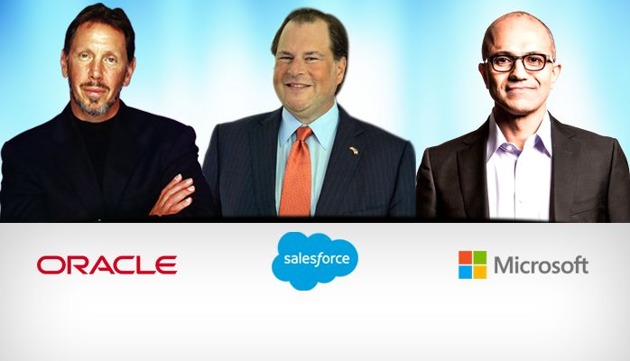 Which Is A Better Fit For Salesforce: Microsoft or Oracle?