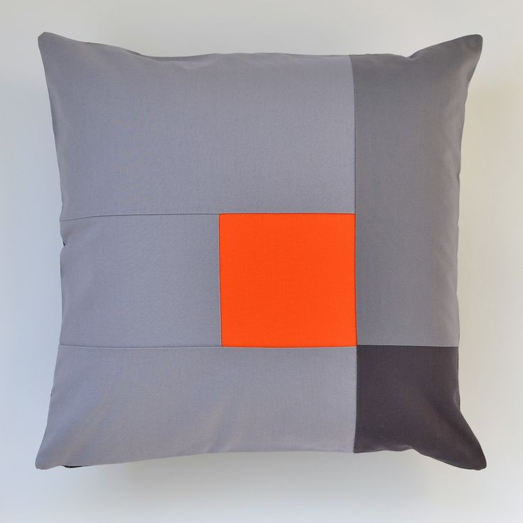 Scully pillow orange (front) by JaffWorks