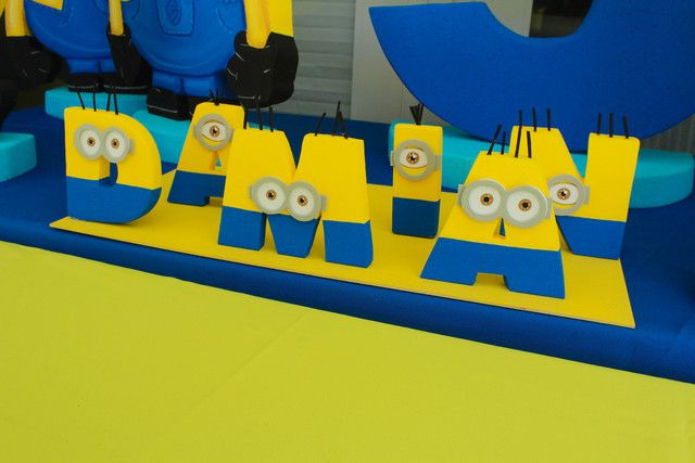 Despicable Damian's 5th Birthday Party | CatchMyParty.com