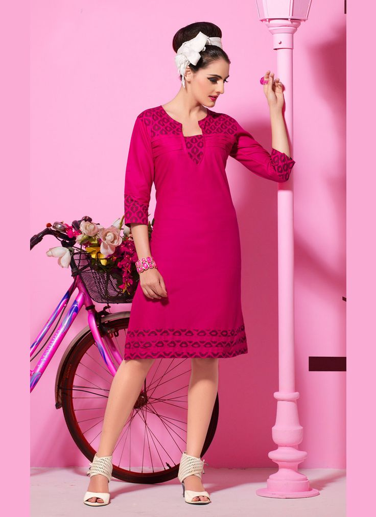 #Kurti #style #girls #fashion #modern #tunics #colourful #summer #splash  WhatsApp @+919377111620