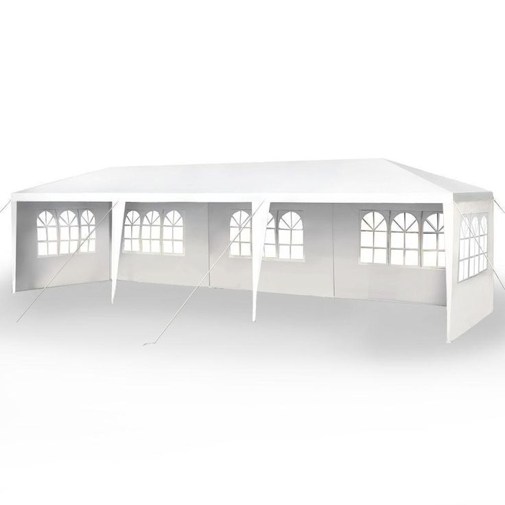 10'x30' Party Wedding Outdoor Patio Tent Canopy Heavy duty Gazebo Pavilion -5 #FDW