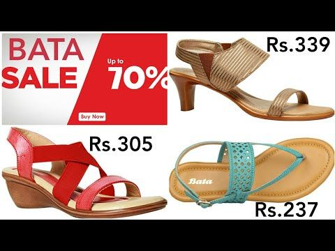bb7b745a5d99 Bata Online Sale Upto 70% Discount   Less than Rs.500-Women Sandals All New  Collection With Pricing - YouTube