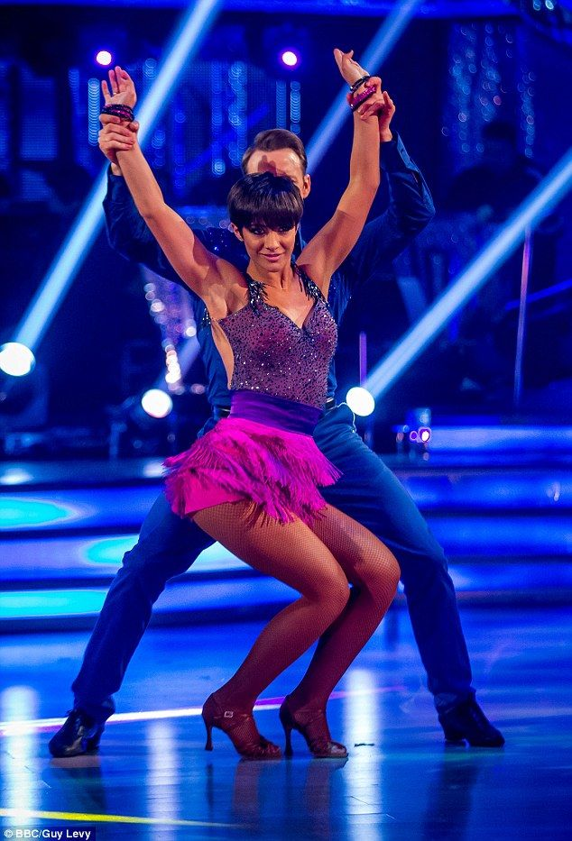Working it: Given the chance to join the class of 2015, she said, 'I was so disappointed not to be able to perform in this year¿s Strictly Tour, as I¿d been so looking forward to continuing my Strictly journey'