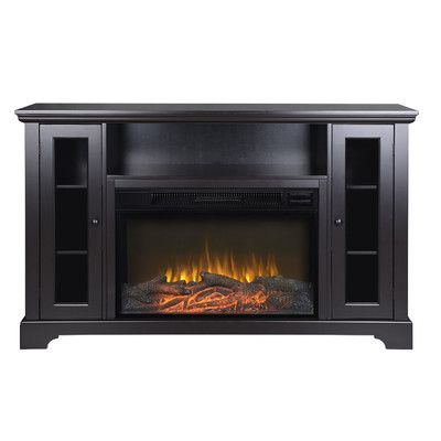 Legends Furniture New Castle TV Stand with Electric Fireplace & Reviews | Wayfair