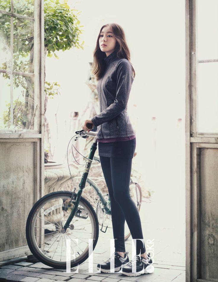""""""" Kim Yuna - Elle Magazine September Issue '14 """""""
