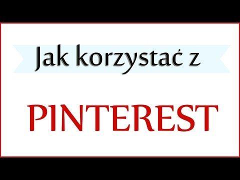 Jak założyć konto na Pinterest?    Iwona Eriksson - YouTube