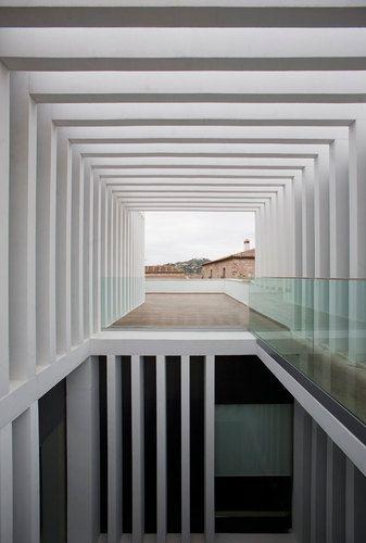 Atrio Relais Châteaux by Mansilla + Tuñón Arquitectos _ Cáceres, Spain