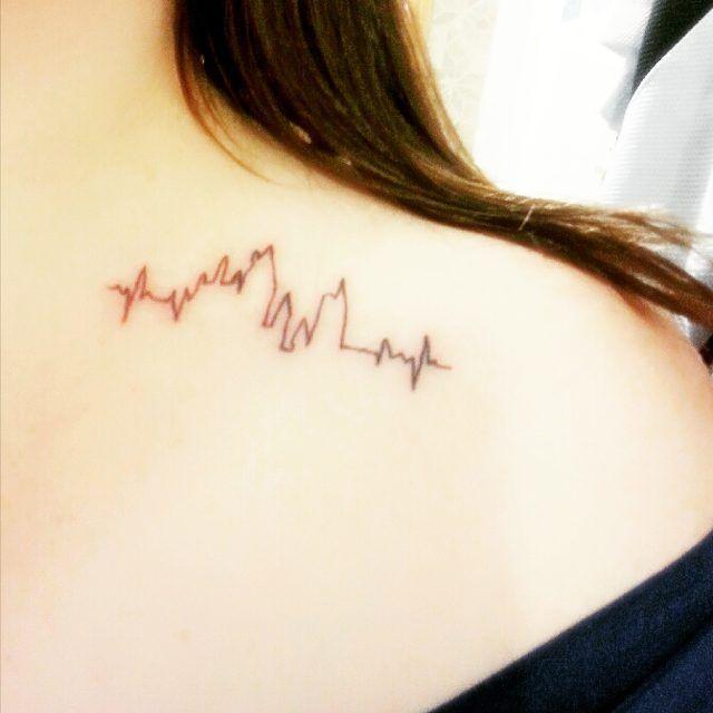 Newest (4th) #harrypotter #tattoo. #harrypottertattoo #ink #hogwarts #ekg