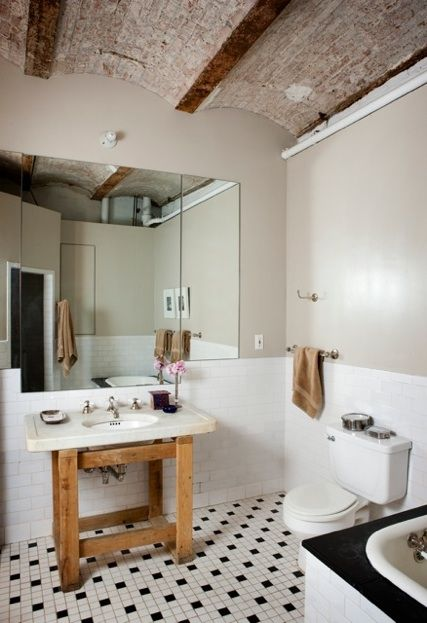 .: Modern Bathroom Design, Decor Bathroom, Design Ideas, Rustic Bathrooms, Ceilings, Bathroom Ideas, Bathroom Interiors Design, Bathroom Decor, Interiors Design Bathroom