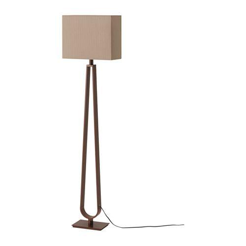 Klabb floor lamp light brown bronze color colors bulbs and floor lamps - Paper floor lamp ikea ...