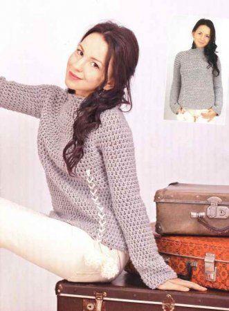 Теплый свитер является самой любимой вещью в зимнем гардеробе. Свитер незаменимая вещь на прогулках и прохладных помещениях.