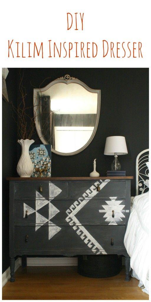 Savanna Interior Diy Mini Pond: DIY Kilim Inspired Dresser
