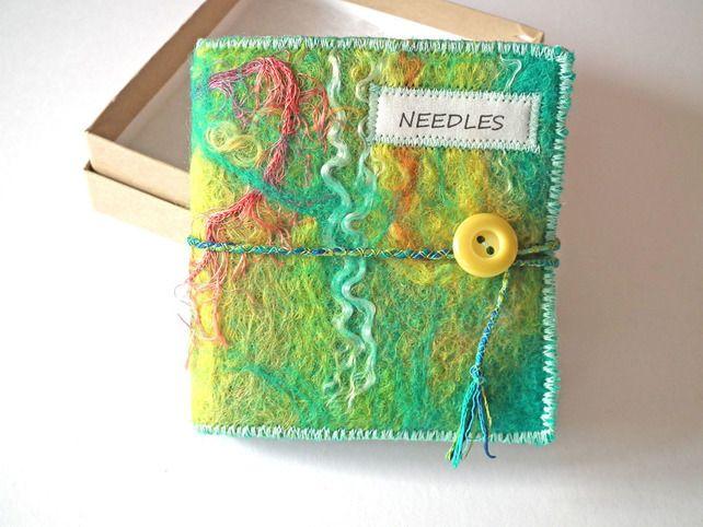 Felt Sewing Needle Case Needlecase Needle Book Mother39s