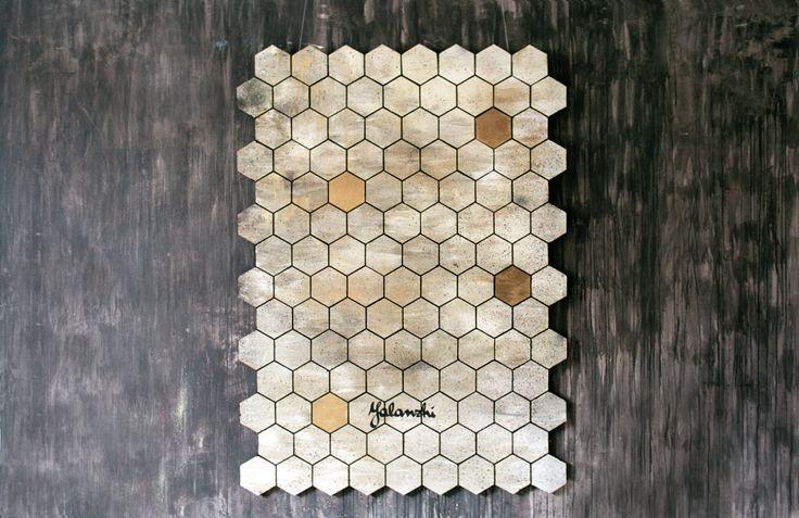 Honey glaze decorative panels  166-121cm, Mixed technique, 2016 Yalanzhi