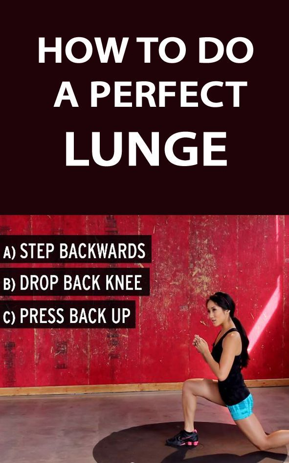.THIS IS HOW YOU DO A PERFECT LUNGE: Http://therunningbug