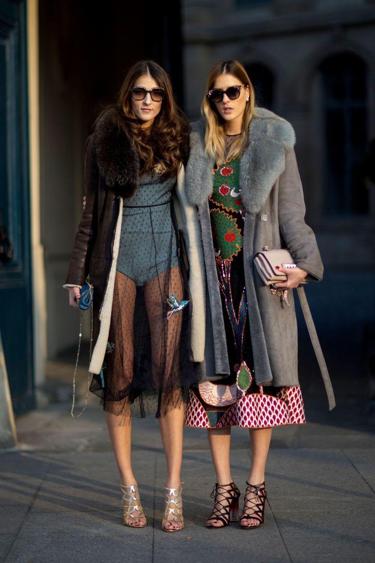 Street Style Alta Costura - January 2017 #hcss17 #pfw