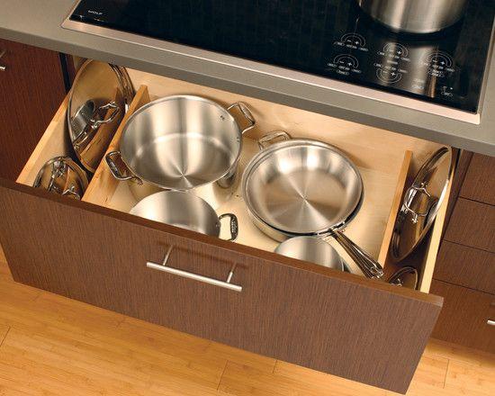 Saucepan Lid Storage Organizer : pan lid storage racks keep drawers looking so clean and tidy
