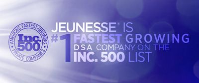 It's the fastest growing business opportunity in the world!  Jeunesse is taking the world by storm!
