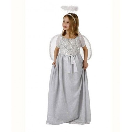 Disfraz de Angelito  El disfraz incluye: Vestido, alas y tocado…