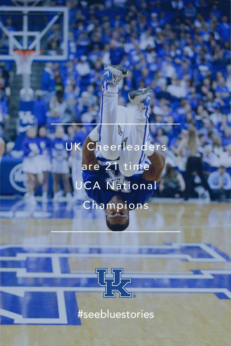 With 21 UCA National Championships, @KentuckyCheer is the winningest cheer program in the country! This weekend they shoot for number 22!