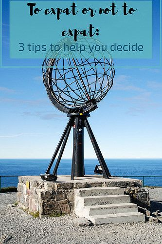 To expat or not to expat: 3 tips to help you decide
