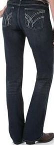 Jeans Ladies Wrangler Q-Baby The Ultimate Riding Stretch #WRQ20AU