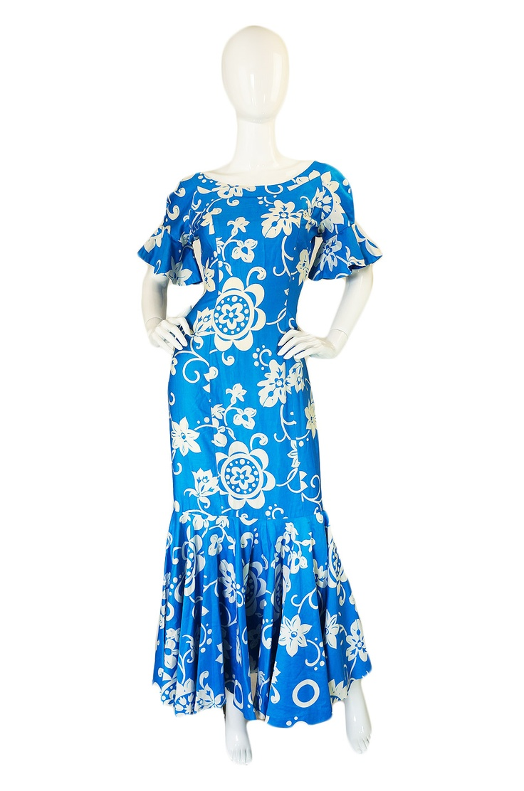 8 best images about aloha wear on pinterest sewing for Hawaiian wedding dresses with sleeves